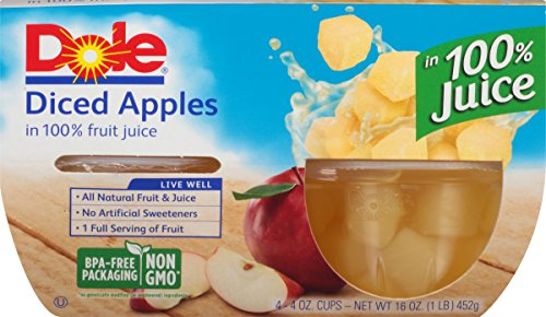 dole-fruit-bowls-diced-apples-in-100-fruit-juice-4-ounce-pack-of-4