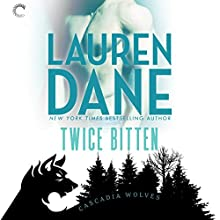 Twice Bitten: Cascadia Wolves, Book 7 Audiobook by Lauren Dane Narrated by Tanya Eby