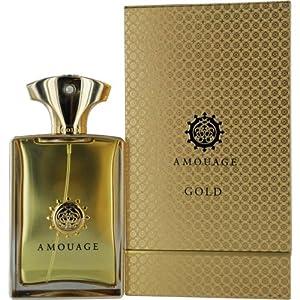 Amouage Gold Eau De Parfum Spray for Men, 3.4 Ounce