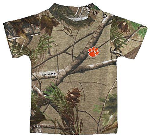 Clemson Tigers Camouflage NCAA College Toddler Baby T-Shirt Tee