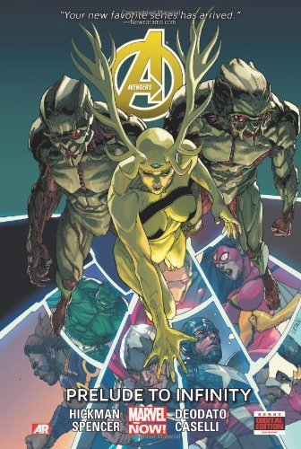 Avengers Prem HC 03 Infinity Prelude Now