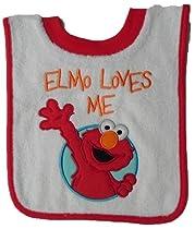 Baby Bib - Elmo Loves Me