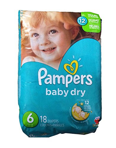 Pampers Baby Dry Diapers - Size 6 - 18 ct