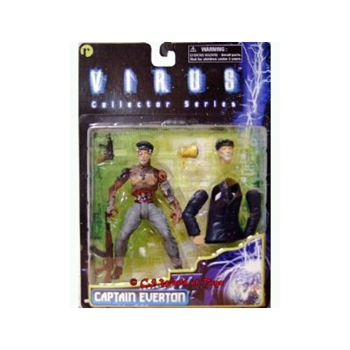 Virus Collectors Series Captain Everton 6 inch Action Figure