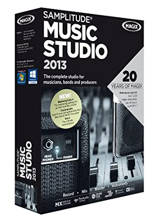 Samplitude Music Studio 2013
