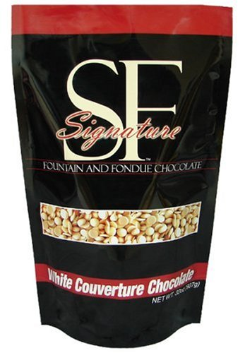 SF Signature Fondue Chocolate, White Chocolate, 32-Ounce Pouches (Pack of 2)