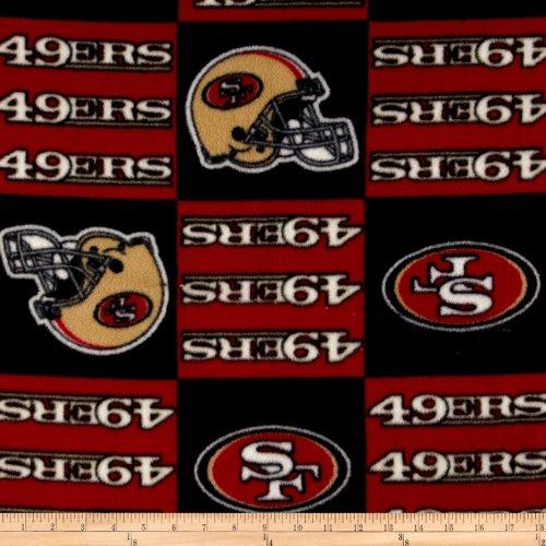 49ers Blanket Fleece front-1048180