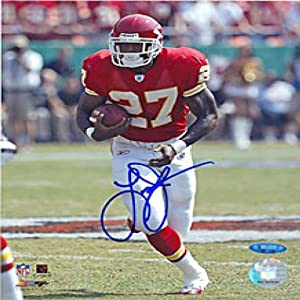 Larry Johnson Autographed Signed 8x10 Photo- Kansas City Chiefs by Hollywood Collectibles