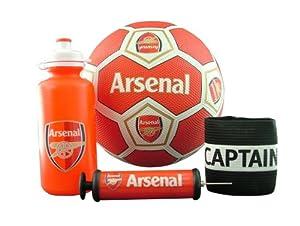 Arsenal Captain Armband Set, Red/White/Blue