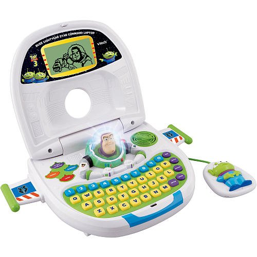 Vtech - Toy Story 3 - Buzz Lightyear Spaceship Laptop front-1055093