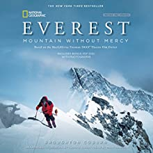 Everest, Revised & Updated Edition: Mountain Without Mercy (       UNABRIDGED) by Broughton Coburn Narrated by Mark Peckham