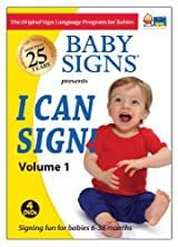 Baby Signs I Can Sign! DVD Set Volume 1