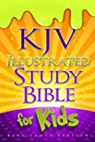 img - for KJV Illustrated Study Bible for Kids book / textbook / text book