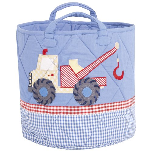 JoJo Maman Bebe Storage Bucket, Digger, Medium