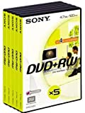 Sony Dpw 120avd - Dvd+rw X 5 - 4.7 Gb - Storage Media