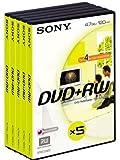 Sony Dpw 120avd - Dvd+rw X 5 - 4.7 Gb - Storage Media