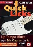 echange, troc Guitar Quick Licks: Eric Clapton Style Up Tempo [Import anglais]
