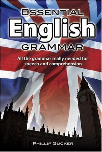 Essential english grammar philip gucker
