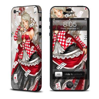 iPhone 5 スキンシール デコ シール  カードの女王 並行輸入品