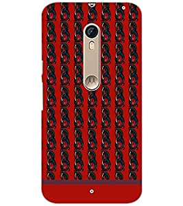 Printdhaba Pattern D-1822 Back Case Cover For Motorola Moto X Pure Edition