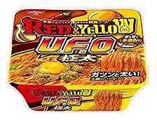 日清焼そばU.F.O. 極太 RED&YELLOW 176g×12個