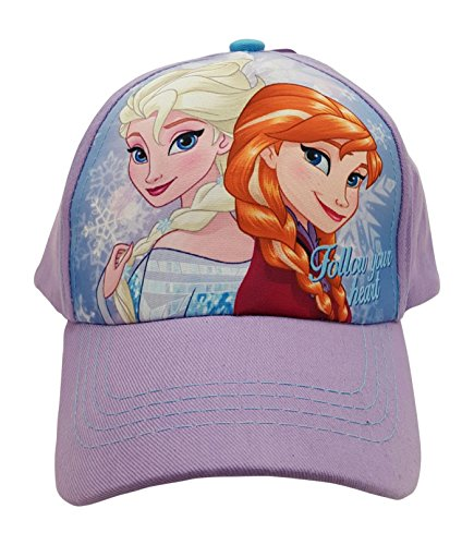 "Frozen ""Follow Your Heart "" Baseball Cap for Little Girls"