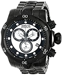 Invicta Men's 80684 Venom Analog Display Swiss Quartz Grey Watch