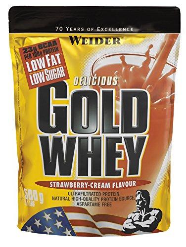 Weider Nutrition Gold Whey Strawberry Cream Powder 500g