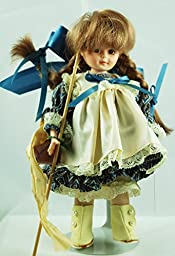 1990 - Robin Woods Inc - Robin Woods : Francie / Down By the Pond - 8 Inch Vinyl Doll - Hand Crafted in USA - Doll Stand - OOP / MIB - New - Rare - Collectible
