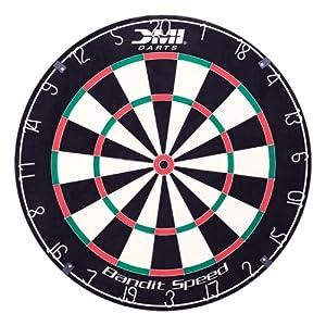 Buy Bandit Speed Staple Free Bristle Dart Board by Verus Sports