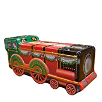 Chrismas Train Silver Tin