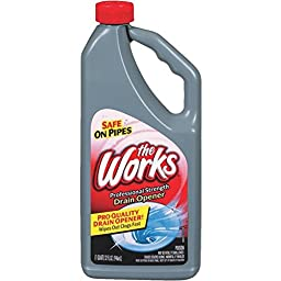 The Works Liquid Drain Cleaner Opener