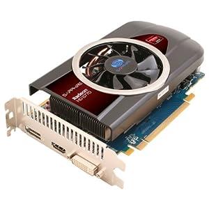 Sapphire Radeon HD 6770 - Tarjeta gráfica ATI (PCI-e, memoria de 1 GB GDDR5, HDMI, VGA, 1 GPU)