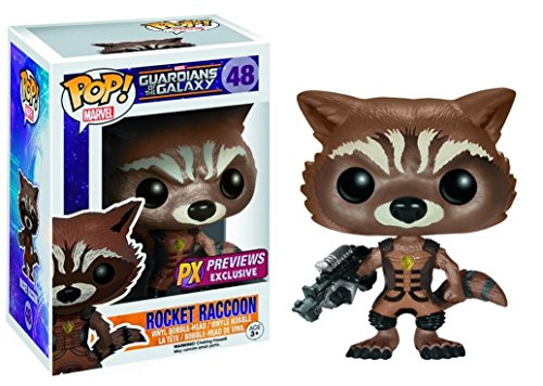 Pop Guardians of the Galaxy Ravager Rocket Raccoon Vinyl Figure