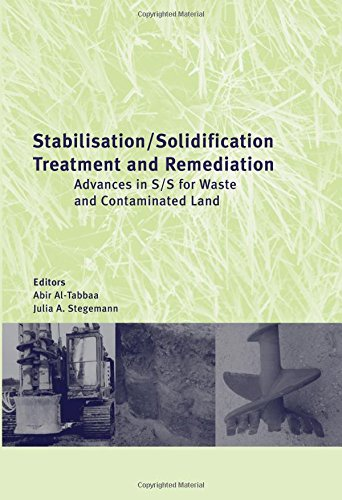 Stabilisation/Solidification Treatment and Remediation: Proceedings of the International Conference on Stabilisation/Sol