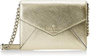 kate spade new york Monday Cross Body Bag, Gold, One Size