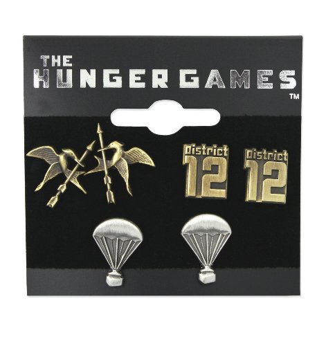 The Hunger Games Earrings Stud Earrings 3 Pack