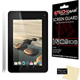 [Pack of 2] TECHGEAR® Acer Iconia B1-710 B1-711 CLEAR LCD Screen Protectors With Cleaning Cloth & Application Card