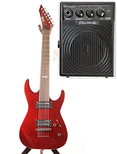 Esp Ltd M-17 Candy Apple Red Limited Edition 7 String Electric Guitar