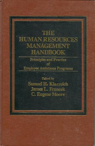 The Human Resources Management Handbook