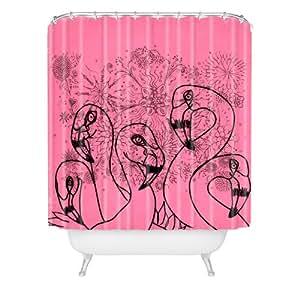 Amazon.com: DENY Designs Lisa Argyropoulos Pink Flamingos Shower