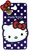 MACC Designer Soft Back Cartoon Cover Case Silicon 3D For Huawei Honor 3C / Honor Holly - HKWITHPENDANT-PURPLE