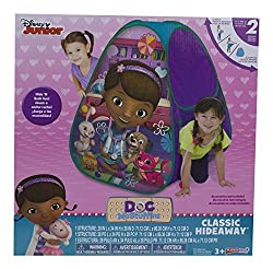 Disney Junior Doc Mc Stuffins Hideaway Hide N Seek Play Tent