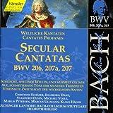 Edition Bachakademie Vol. 64 (Weltliche Kantaten BWV 206-207)