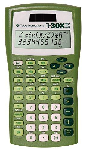 texas-instruments-ti-30x-iis-2-line-solar-battery-powered-scientific-calculator-lime-green