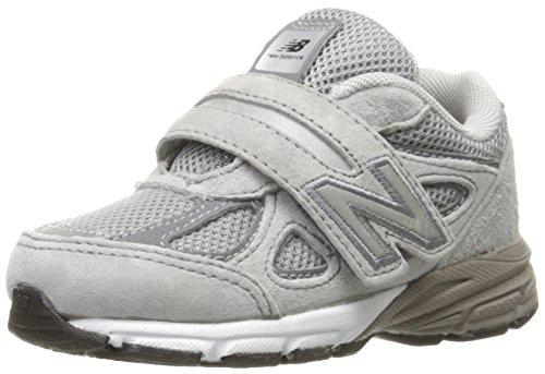 New Balance KJ990V4 Infant Running Shoe (Infant/Toddler), Grey/Grey, 2 E US Infant