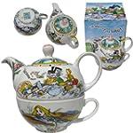 Alice in Wonderland Tea for One Teapo...