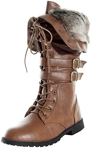 Женские зимние ботинки из кожи