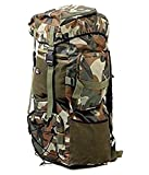 #6: Travelling Army/Warrior Rucksack ,Water Proof Traking Military Backpack/Tourist Bag 75ltr