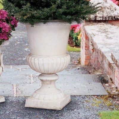 Design Toscano Chateau Elaine Authentic Large Iron Urns (Set of 2) (Design Toscano Urn compare prices)